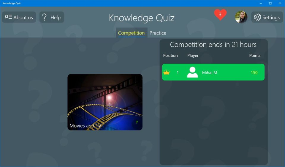 Knownledge Quiz