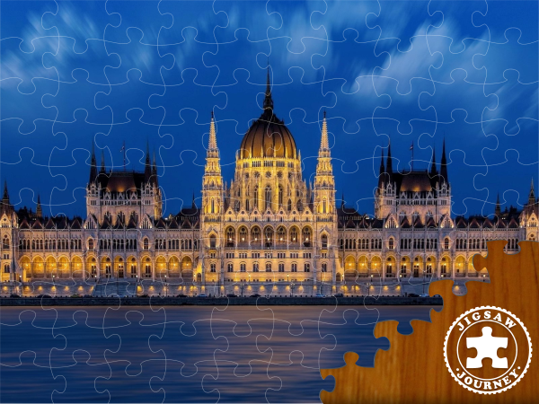 The Hungarian Parliament - Budapest Puzzle Pack