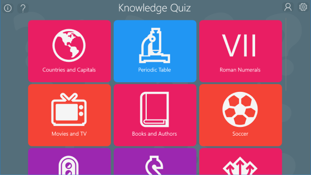 Knowledge Quiz