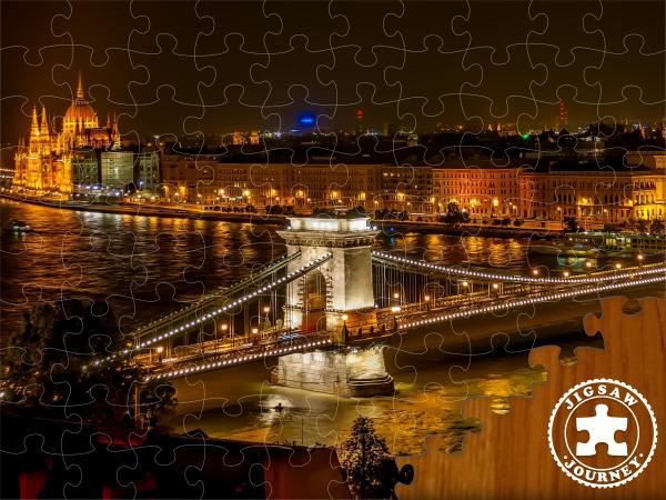 Széchenyi Chain Bridge - Budapest Puzzle Pack