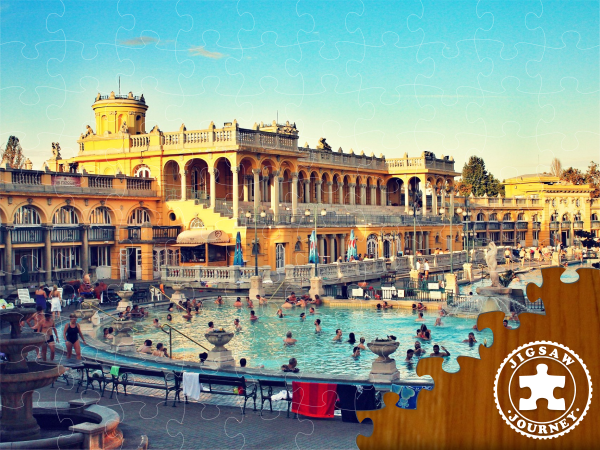 Széchenyi Thermal Baths - Budapest Puzzle Pack