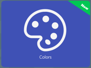 Colors Pack in Knowledge Quiz