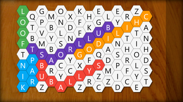 Hexa Word Search Find Words That Are Shorter in Length