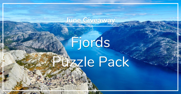 June Giveaway - Fjords Puzzle Pack
